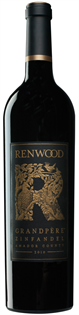 Renwood Zinfandel Grandpere 2012 750ml